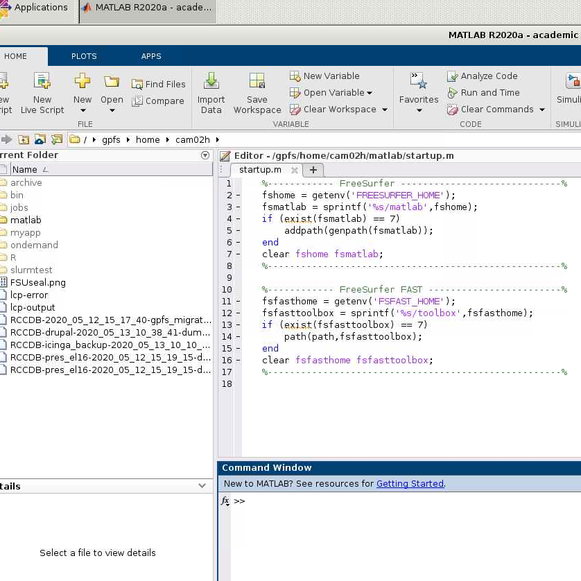 MATLAB running in a web browser